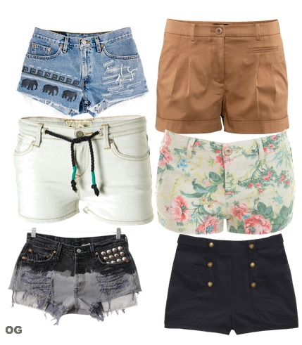 Cute Summer Shorts - The Else