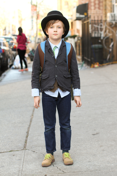 style inspiration from little kids