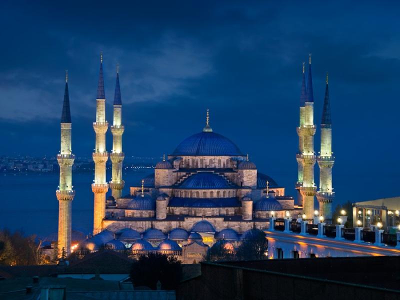 0837 - Turkije - Istanbul - Blauwe moskee